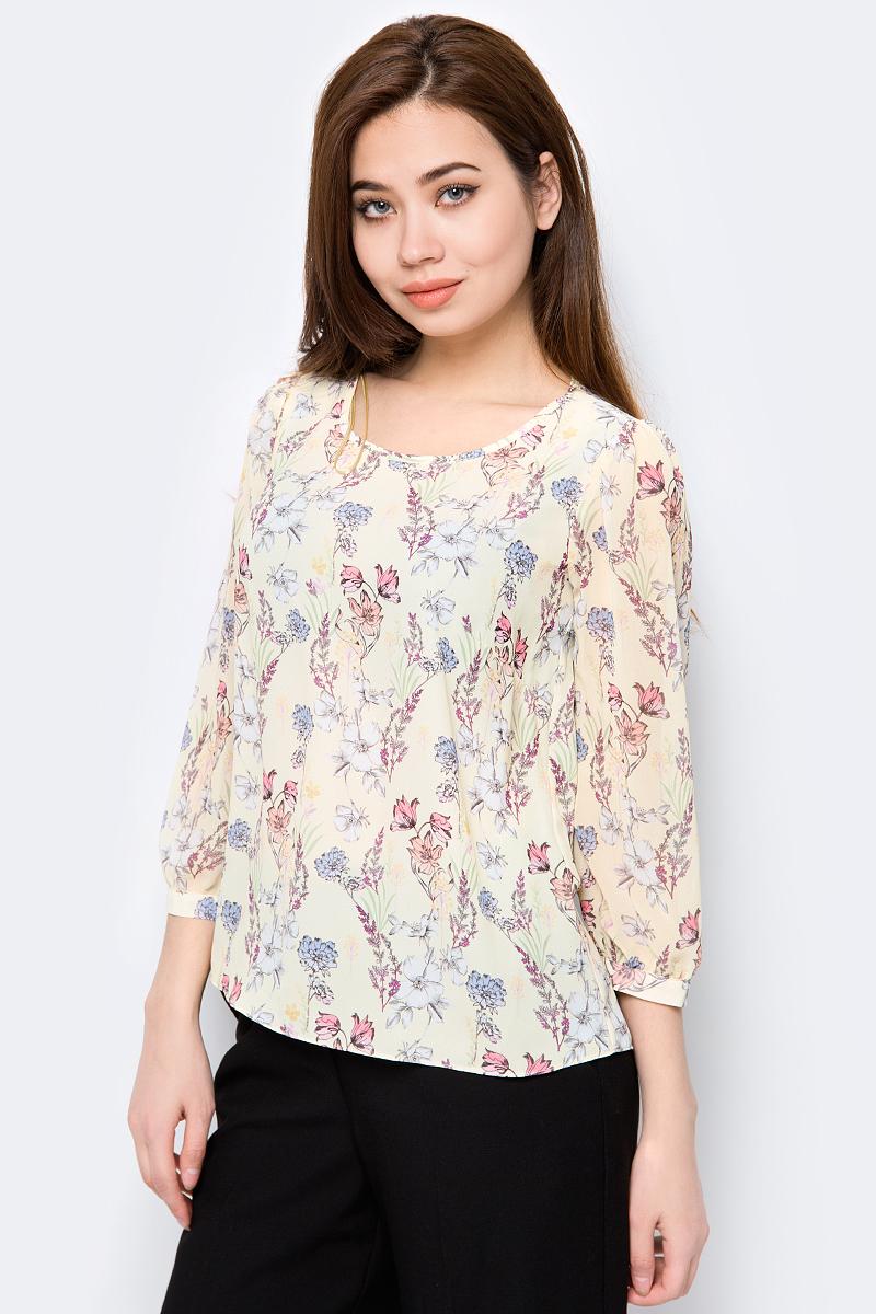 Купить Блузка женская adL, цвет: желтый. 11515127051_204. Размер XS (40/42)