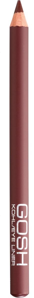 Gosh Карандаш для глаз Kohl, 1,1 г, коричневый catrice контур для глаз kohl kajal 040 white белый 1 1гр
