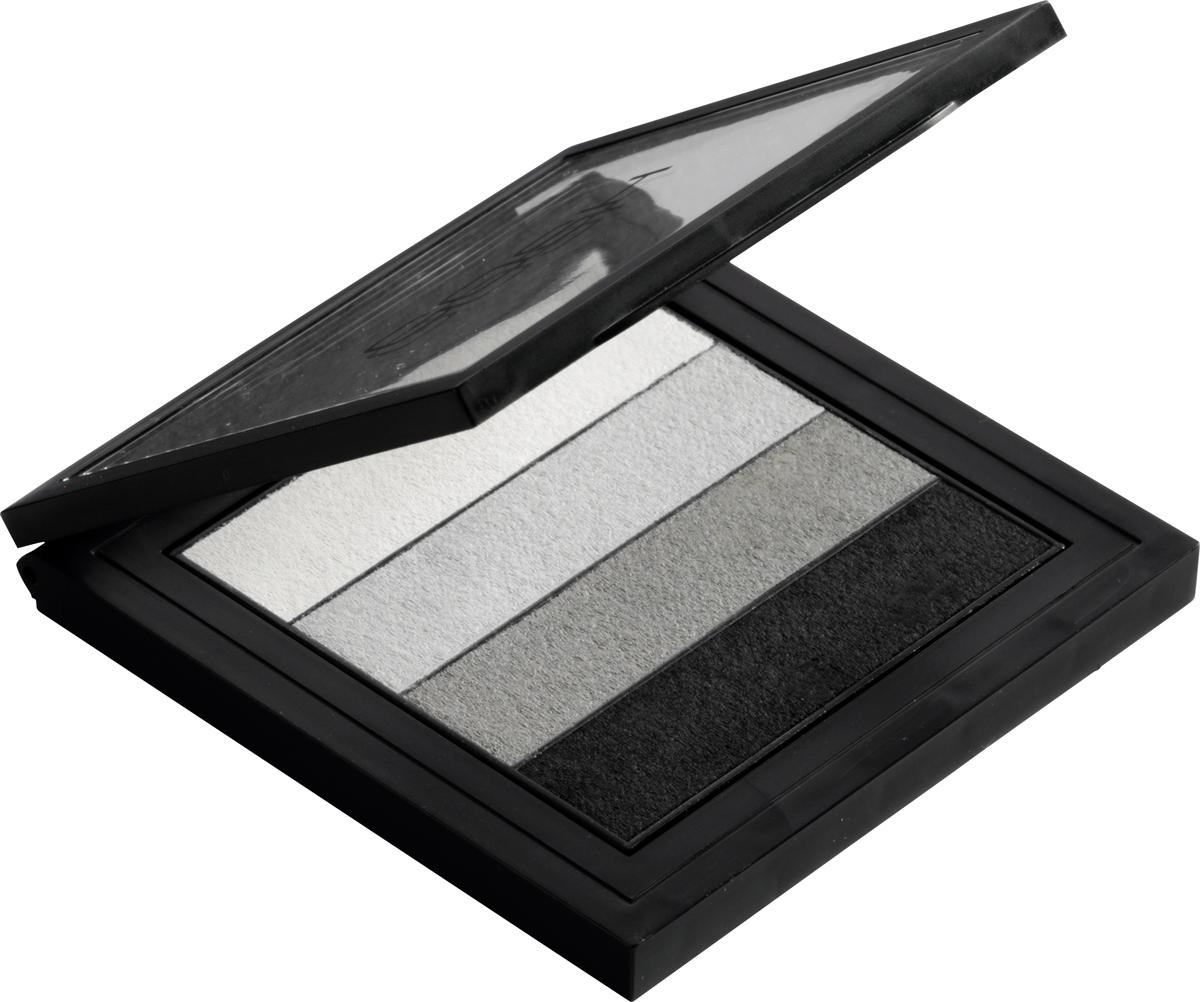 Gosh Палетка теней для век Smokey, 8 г, тон №01 gosh тени для век в карандаше forever matt водостойкие 1 5 г 09