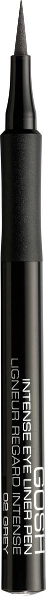 Gosh Подводка-фломастер для глаз Intense, 1 мл, тон №025701278543620Подводка в виде фломастера Intense Eye Liner Pen от датского бренда Gosh - это восхитительное средство, призванное облегчить процесс создания выразительного и яркого мейкапа глаз. Благодаря своему функциональному дизайну и сенсационно стойкой формуле эта подводка позволяет нарисовать абсолютно четкую, чрезвычайно ровную и аккуратную стрелку насыщенного цвета, которая будет безукоризненно держаться на веках в течение дня, наполняя взгляд необыкновенной выразительностью. С помощью подводки от Gosh рисование как изысканно тонкого, так и ультрамодного утолщенного контуров станет необычайно простым занятием даже для новичков, которым достаточно сложно провести поистине идеальную стрелку.Представленная подводка имеет эластичный и мягкий фетровый аппликатор, который делает ее использование максимально комфортным и продолжительным. Сроки использования средства увеличиваются более, чем в два раза, благодаря великолепной возможности перевернуть аппликатор подводки обратной стороной. Способ применения: Начните проводить линию от внутреннего угла глаза к внешнему так, чтобы кисточка шла точно вдоль основания ресниц.