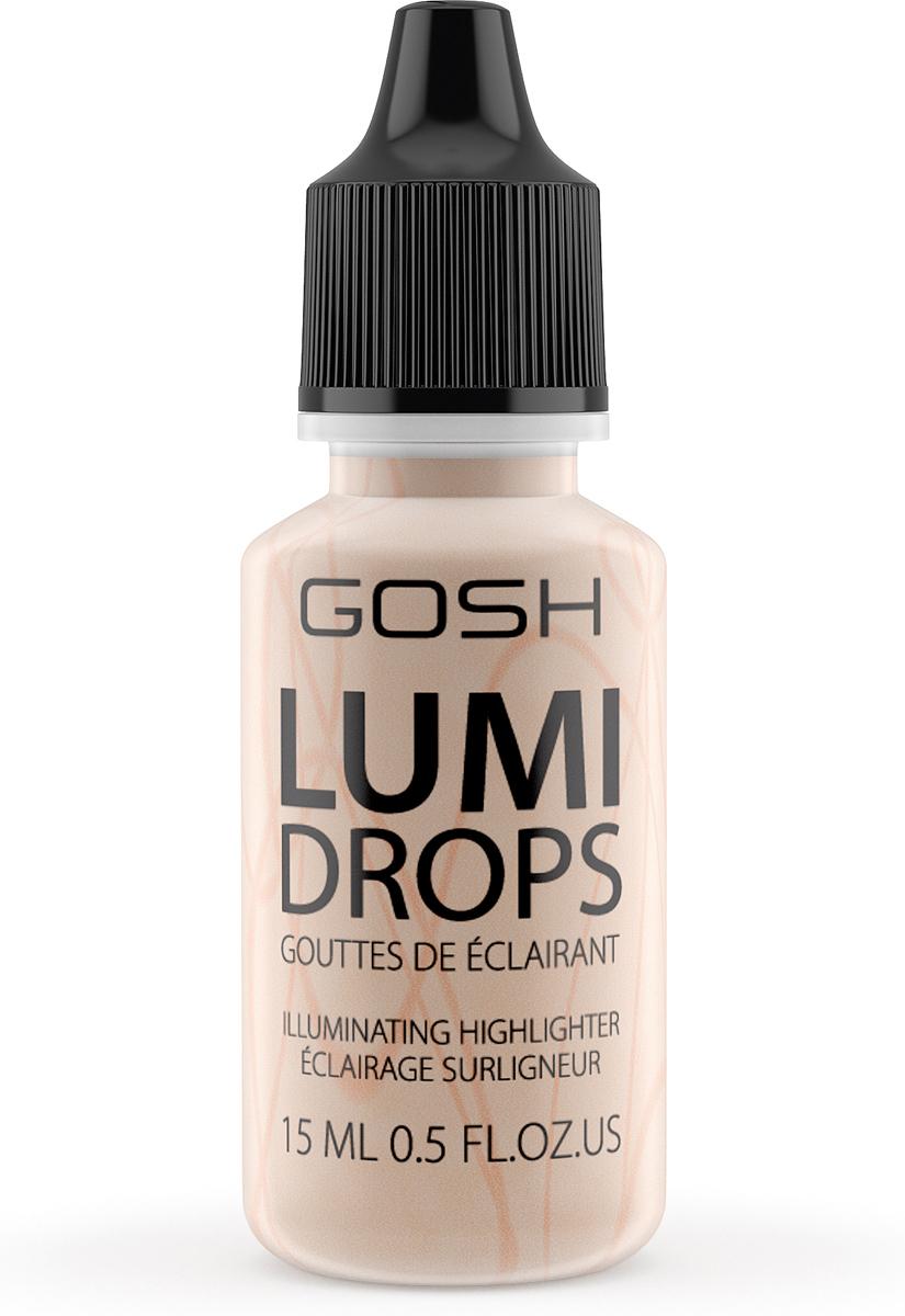 цена на Gosh Люминайзер-флюид для лица Lumi Drops, 15 мл, тон №002