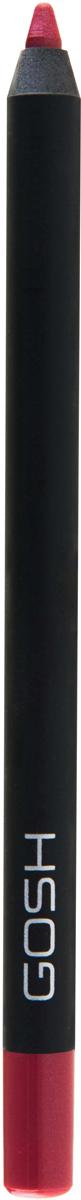 Gosh Карандаш для губ Velvet Touch водостойкий, 1,2 г, тон №0105711914088798Чтобы придать макияжу губ максимальную выразительность, стойкость и обворожительность, визажисты рекомендуют использовать специальные контурные карандаши. Именно они помогут создать абсолютно безупречный контур губ, предотвратив растекание косметического средства, а также существенно увеличат стойкость макияжа, позволив сохранить яркость, глубину и насыщенность помады в течение всего дня.Одним из самых потрясающих карандашей для губ, приобрести которые вы имеете возможность, является Velvet Touch Waterproof Lipliner, разработанный датским брендом Gosh. Входящие в его состав витамин Е, минеральное и масло жожоба обеспечат максимально мягкое нанесение и сверхбыструю фиксацию на губах в течение 30-40 секунд. А благодаря эксклюзивным высокотехнологическим пигментам, имеющим инновационную водостойкую формулу, вы получите восхитительно стойкий и насыщенный натуральный оттенок, который не оставит равнодушной даже самую требовательную леди. Контурный карандаш от Gosh отлично работает с помадой, не позволяя ей блекнуть, растекаться и скатываться в течение дня. К тому же, представленный карандаш можно смело использовать самостоятельно, тем самым создавая абсолютно естественный и натуральный, но при этом потрясающе стойкий макияж губ. Способ применения: Обведите губы контурным карандашом, затем нанесите помаду или блеск для губ. После использования хорошо закройте карандаш, чтобы стержень оставался мягким и эластичным.