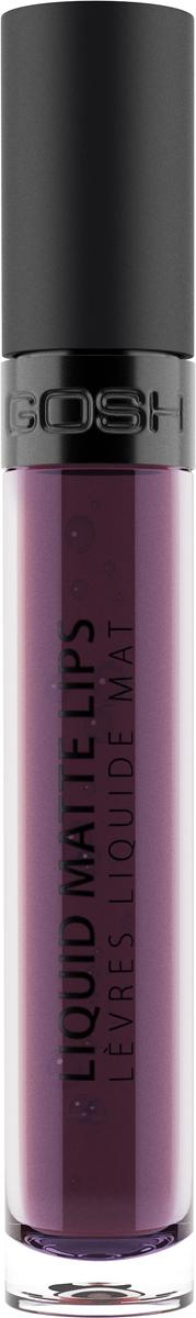 Gosh Помада жидкая Liquid Matte Lips матовая, 4 мл, тон №008