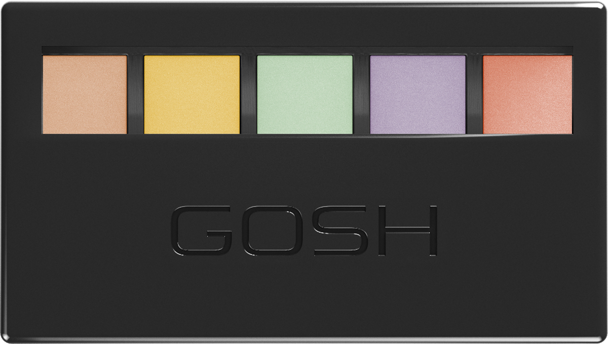 Gosh Набор консилеров Colour Corrector Kit, 5 г, 001 dark spot corrector remover serum for face most potent anti aging facial corrector reduce fine lines