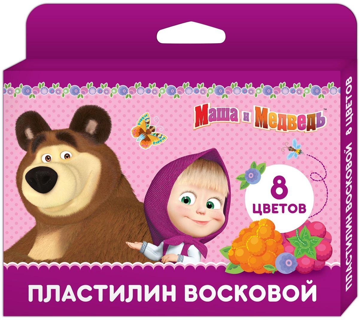 Маша и Медведь Пластилин 8 цветов34191Яркий восковой пластилин Маша и Медведь поможет вашему малышу создавать не только прекрасные поделки, но и рисунки. Изготовленный на основе природного воска и натуральных наполнителей, он обладает особой мягкостью и пластичностью: легко разминается и моделируется детскими пальчиками, не пачкается, не прилипает к рукам и рабочей поверхности, не крошится, не высыхает, хорошо держит форму, его цвета легко смешиваются друг с другом. Создавайте новые цвета и оттенки, лепите, рисуйте и экспериментируйте, развивая у ребенка мелкую моторику, тактильное восприятие формы, веса и фактуры, воображение и пространственное мышление. А любимые герои будут вдохновлять юного мастера на новые творческие идеи. В наборе Маша и Медведь 8 ярких цветов воскового пластилина в брусках по 15 г и пластиковая стека. Товар сертифицирован и безопасен при использовании по назначению.
