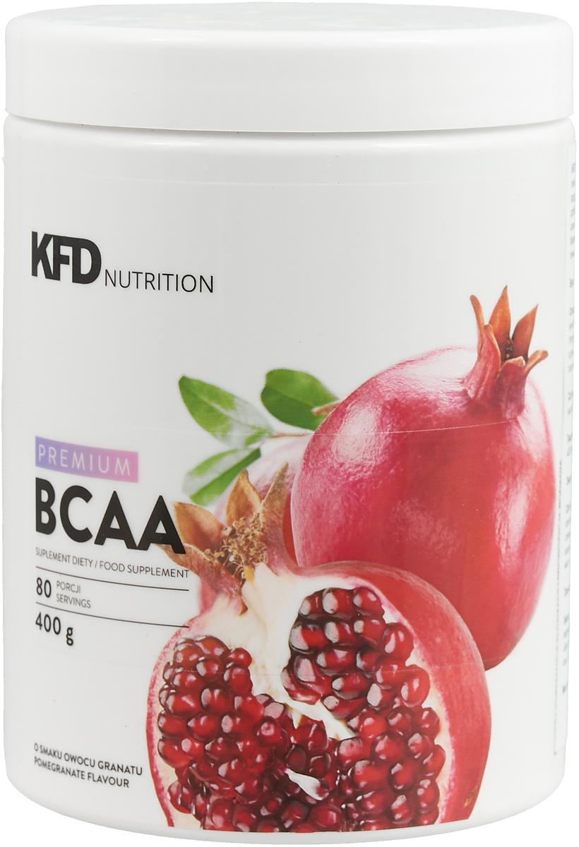 Комплекс аминокислот KFD Premium BCAA, гранат, 400 г аминокислоты geneticlab аминокислоты bcaa pro груша 500 гр
