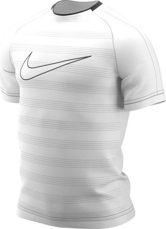 Футболка мужская Nike Dry Academy, цвет: белый. AJ4222-100. Размер M (46/48) футболка мужская nike dry academy цвет синий черный aj4222 469 размер s 44 46
