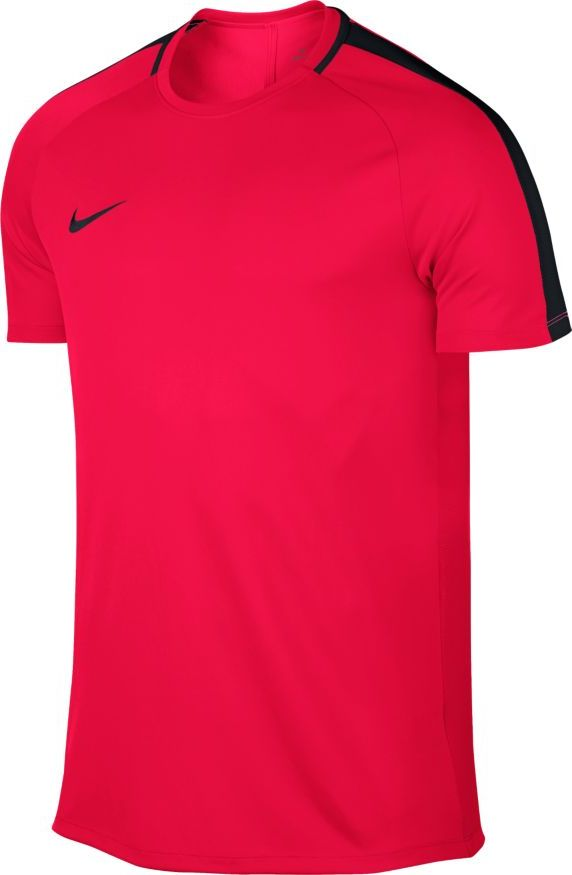 Футболка мужская Nike Dry Academy, цвет: красный, черный. 832967-653. Размер S (44/46)