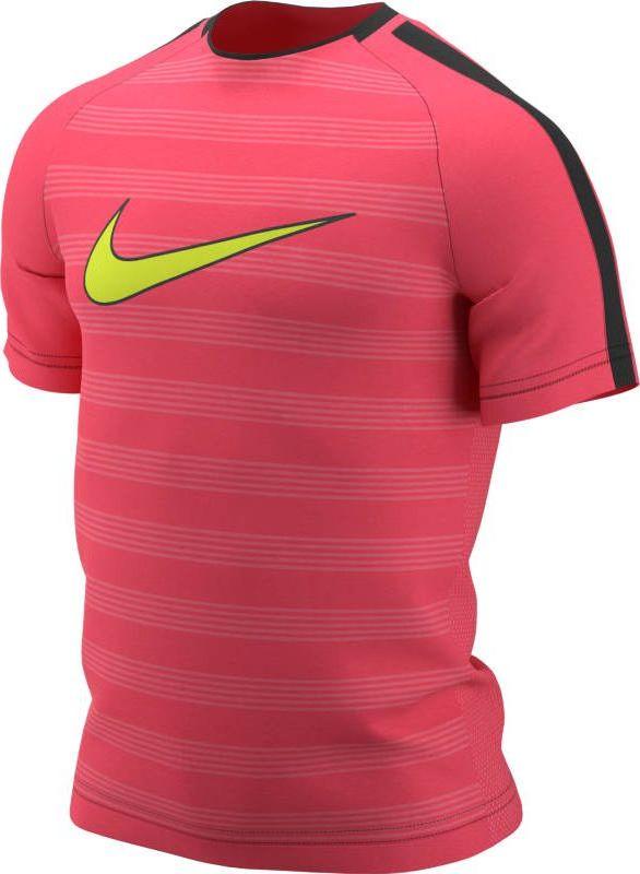 Футболка мужская Nike Dry Academy, цвет: розовый, черный. AJ4222-698. Размер XL (52/54)