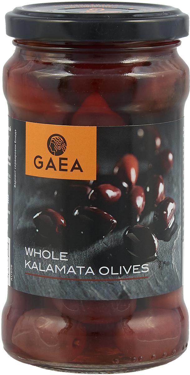 GAEA Оливки Каламата, 300 г korvel натуральные оливки каламата с косточкой джамбо 290 г