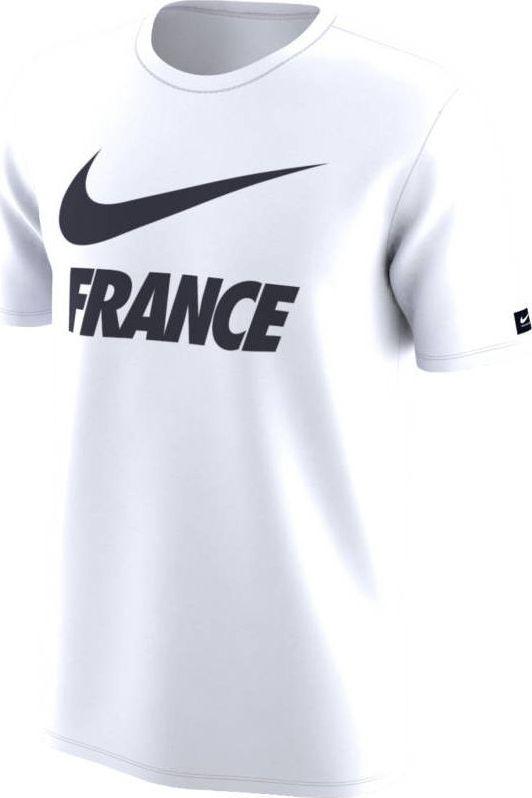 Футболка мужская Nike Dry FFF, цвет: белый. 888875-100. Размер L (50/52) футболка мужская mitre цвет голубой 5t40033mscb размер l 50 52