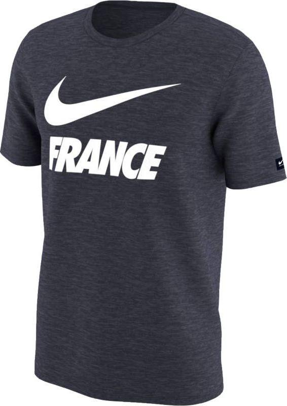 Футболка мужская Nike Dry FFF, цвет: черный. 888875-451. Размер XXL (54/56) цена и фото