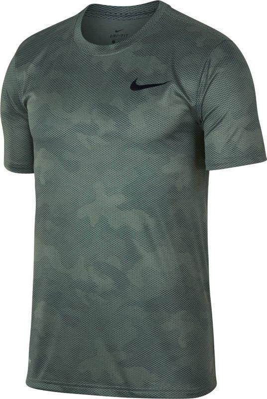 Футболка мужская Nike Dry Legend Training -Shirt, цвет: хаки. 909350-365. Размер  (44/46)