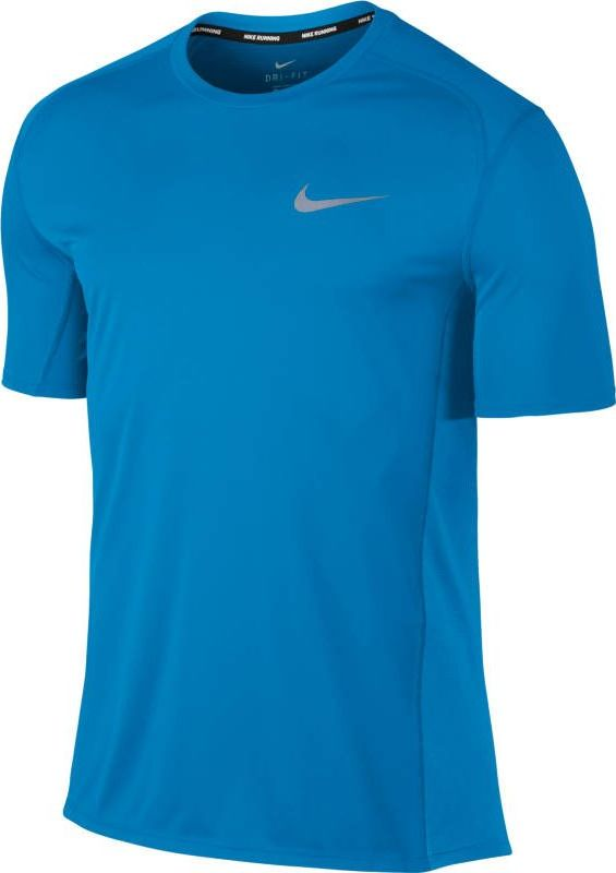 Футболка мужская Nike Dry Miler Running Top, цвет: синий. 833591-482. Размер S (44/46) nike original new arrival mens running shoes air max modern light quick dry low top for men 844874 402 844887 005