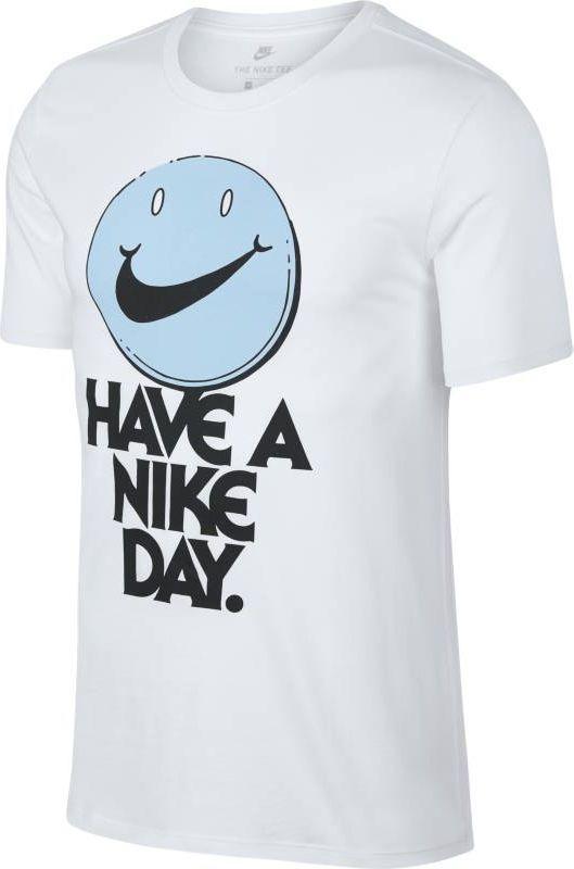 Футболка мужская Nike Sportswear, цвет: белый. 911903-100. Размер S (44/46) футболка женская nike pro top цвет белый 889540 100 размер s 42 44