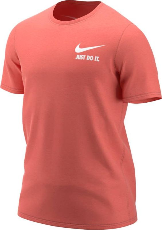 Футболка мужская Nike Sportswear, цвет: оранжевый. 911922-816. Размер  (44/46)