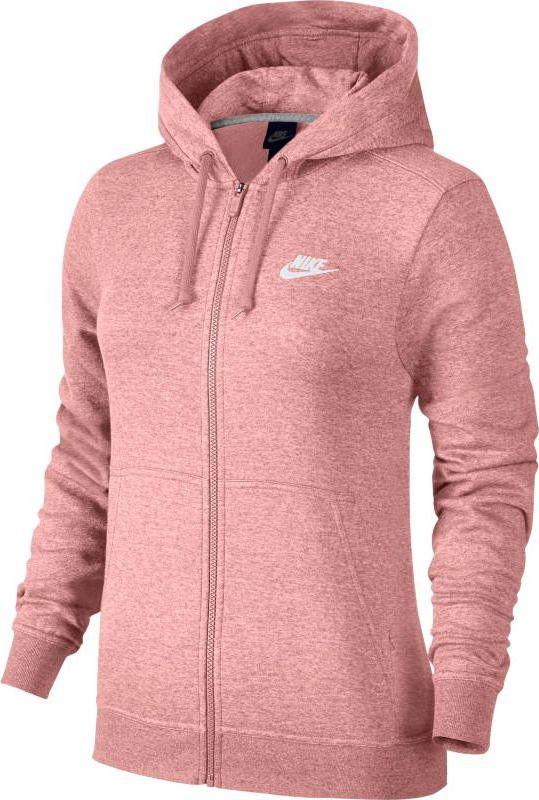Худи женское Nike Sportswear Hoodie, цвет: коралловый. 853930-697. Размер L (48/50)