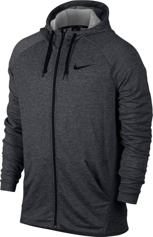 Толстовка мужская Nike Nk Dry Hoodie Fz Fleece, цвет: серый. 860465-071. Размер XXL (54/56)