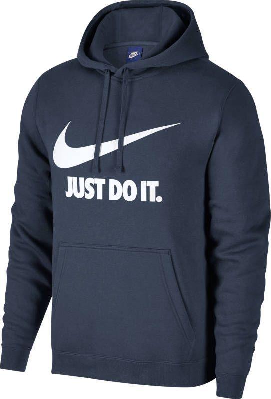Толстовка мужская Nike NSW Hoodie PO JDI, цвет: синий. 886496-471. Размер XXL (54/56)