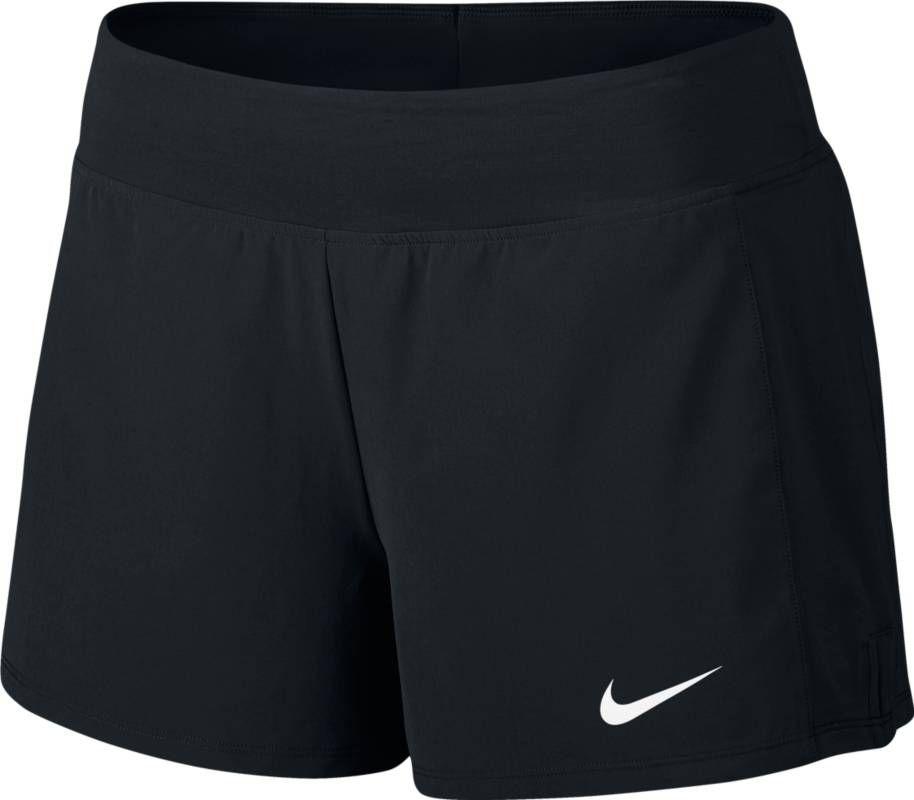 Шорты женские Nike Court Flex Pure Tennis Short, цвет: черный. 830626-010. Размер L (48/50)