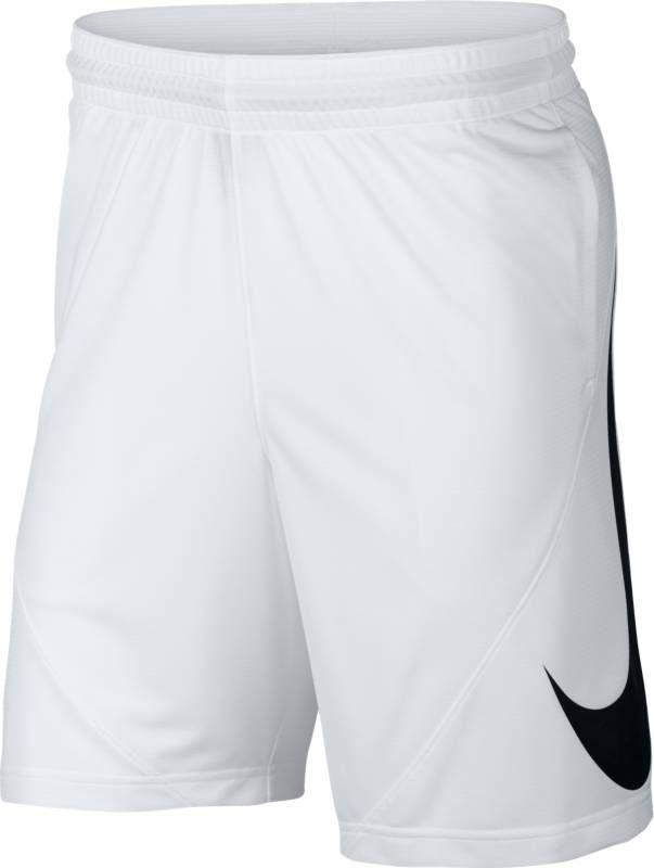 Займите выгодную позицию вблизи кольца, выдавите соперника и забросьте мяч в мужских баскетбольных шортах Nike. Баскетбольные шорты с увеличенным логотипом Swoosh из легкой ткани Nike Dry имеют шаговый шов длиной 28 см, который обеспечивает превосходную защиту и полную свободу движений. Ткань Nike Dry отводит влагу и обеспечивает комфорт. Шаговый шов длиной 28 см для защиты во время игры в баскетбол. На штанине нанесен большой принт Swoosh.