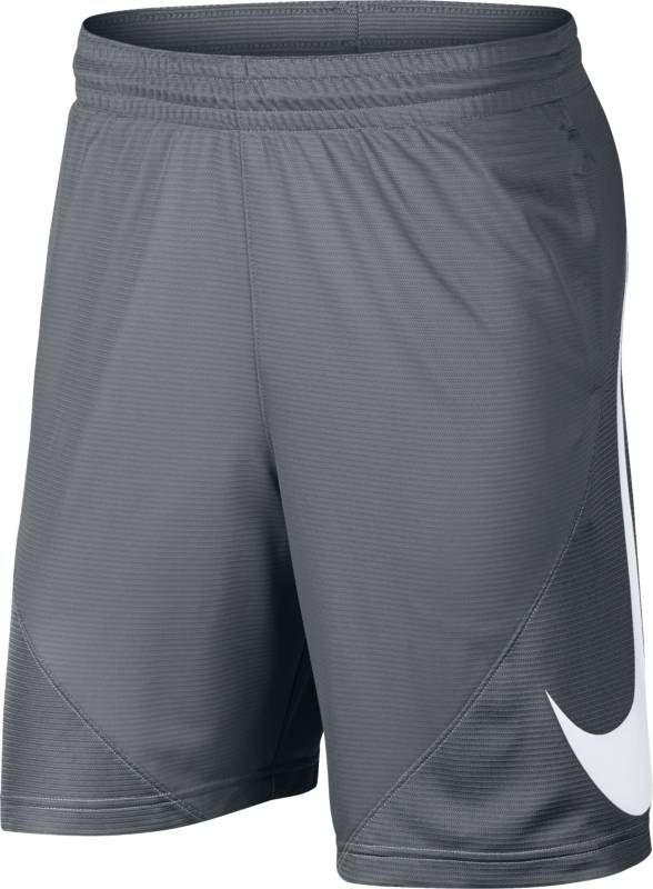 Шорты мужские Nike Basketball Shorts, цвет: серый. 910704-065. Размер L (50/52)