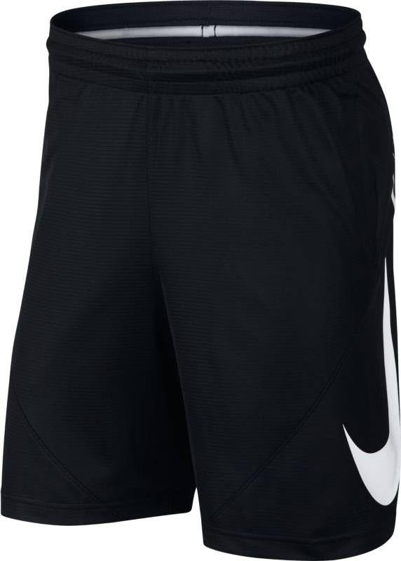 Шорты мужские Nike Basketball Shorts, цвет: черный. 910704-010. Размер XL (52/54)910704-010Займите выгодную позицию вблизи кольца, выдавите соперника и забросьте мяч в мужских баскетбольных шортах Nike. Баскетбольные шорты с увеличенным логотипом Swoosh из легкой ткани Nike Dry имеют шаговый шов длиной 28 см, который обеспечивает превосходную защиту и полную свободу движений. Ткань Nike Dry отводит влагу и обеспечивает комфорт. Шаговый шов длиной 28 см для защиты во время игры в баскетбол. На штанине нанесен большой принт Swoosh.
