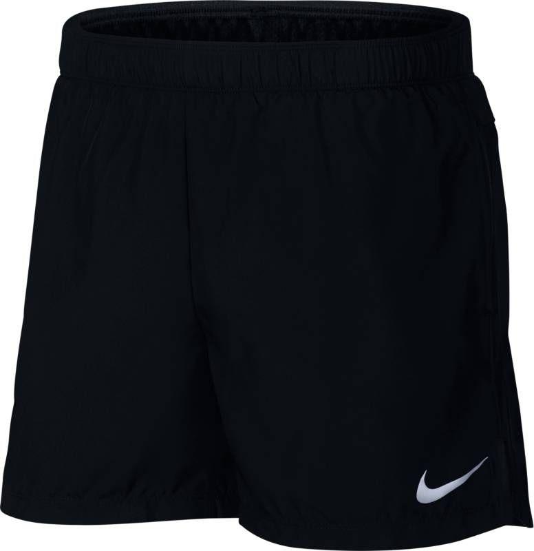 Шорты мужские Nike Challenger Running Shorts, цвет: черный. 908796-010. Размер S (44/46)908796-010Мужские шорты Nike - это незаменимый атрибут в гардеробе любого спортсмена. Стильные удобные шорты выполнены из 100% полиэстера, благодаря чему превосходно сидят, не стесняют движений и великолепно отводят влагу, оставляя тело сухим даже во время интенсивных тренировок. Модель дополнена широкой эластичной резинкой на талии.