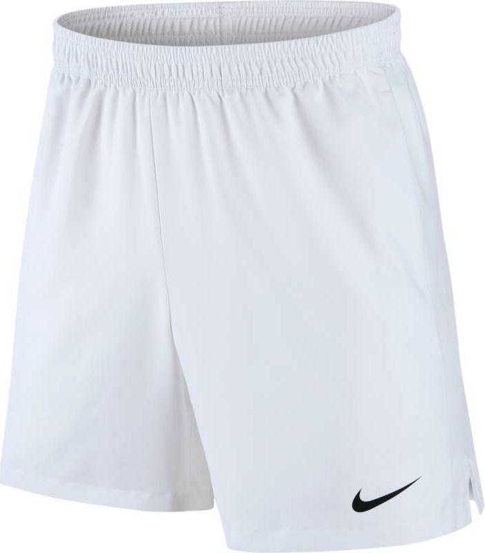 Шорты мужские Nike Court Dry Tennis Short, цвет: белый. 830817-101. Размер S (44/46)