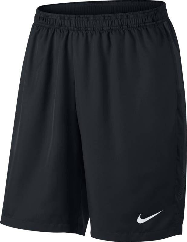 Шорты мужские Nike Court Dry Tennis Short, цвет: черный. 830821-015. Размер XL (52/54)830821-015Мужские шорты Court Dry Tennis от Nike созданы для абсолютной функциональности на корте. Модель выполнена из полиэстера и дополнена глубокими карманами для удобного и надежного хранения мячей. Технология Dri-FIT обеспечивает превосходную воздухопроницаемость и комфорт, выводя влагу на поверхность ткани и позволяя коже дышать. Эластичный воздухопроницаемый пояс с внутренним шнурком для идеальной посадки модели.