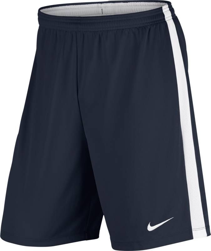 Шорты мужские Nike Dry Football Short, цвет: синий, белый. 832508-451. Размер S (44/46) nuckily bk277 outdoor cycling man s quick dry dacron lycra short pants black size xl