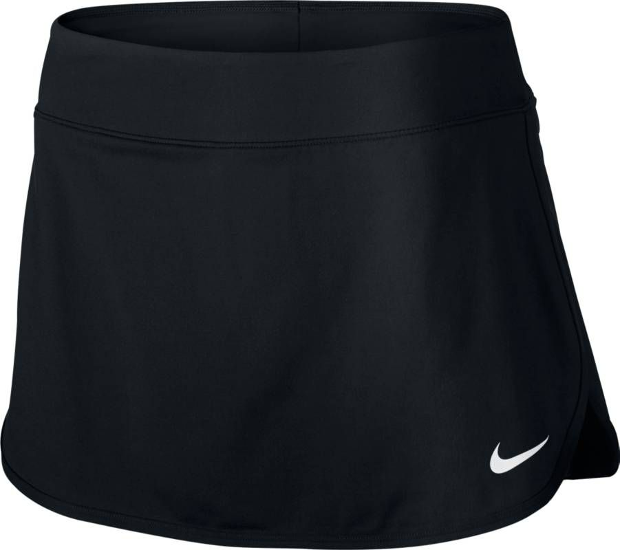Юбка для тенниса Nike Pure Skirt, цвет: черный. 728777-010. Размер XS (40/42) lace insert fitted faux leather skirt