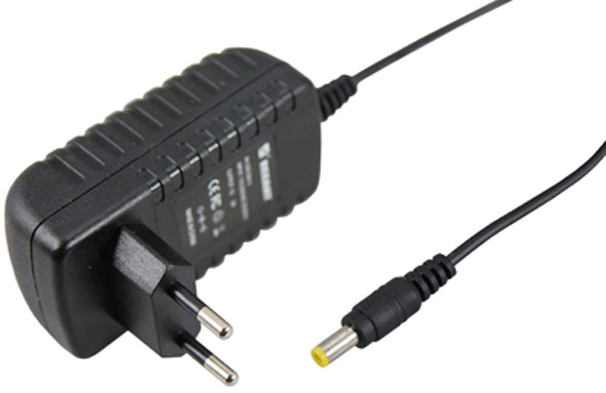 Блок питания для светильника Rexant, 1А, 24W, с DC разъемом подключения 5.5 х 2.1, без влагозащиты201-024-3Источник питания 24В можно использовать не только для LED продукции, но и для систем безопасности, видеонаблюдения и питания любых других низковольтных систем. Данная модель имеет мощность 24 Вт и DC разъем 5,5 x 2,1 мм для подключения.