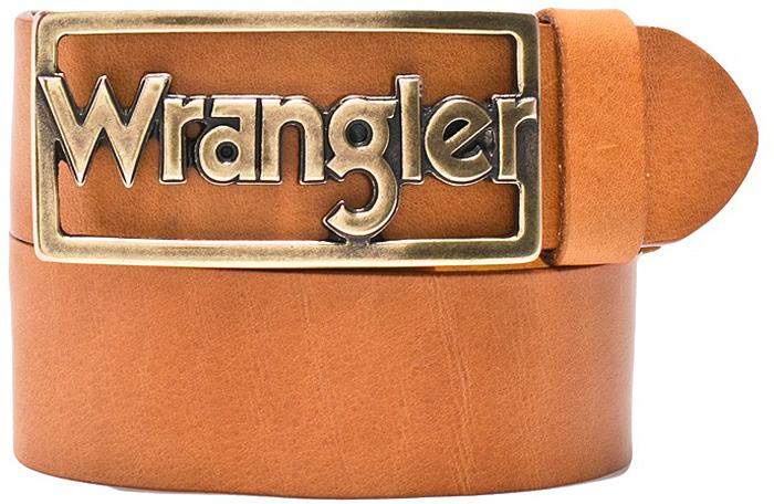Ремень женский Wrangler, цвет: коричневый. W0B57U181. Размер 80W0B57U181
