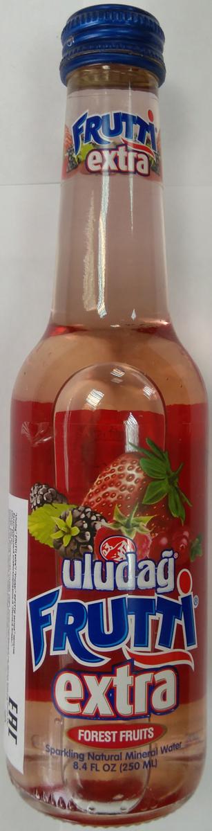 Uludag Frutti Extra Лесные ягоды напиток слабогазированный, 0,25 л напиток mychoice nutrition my fitness l carnitine 2700 shot лесные ягоды 9 x 60 мл
