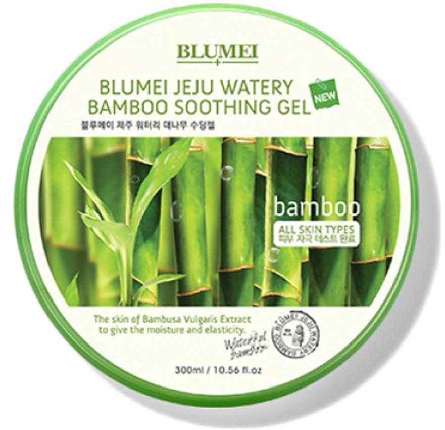 Успокаивающий гель для лица и тела, 300 мл, Blumei3005341Гель на основе бамбука с корейского острова Чеджу успокаивает кожу, охлаждая и освежая её. Увлажняет и повышает её эластичность. Многофункциональное средство подходит для всей семьи. После бритья и эпиляции, после загара, в качестве основного увлажняющего средства, для чувствительной кожи.