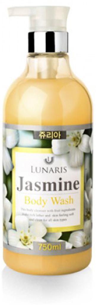Гель для душа с экстрактом жасмина, 750 мл, Lunaris353354Мягкий и нежный гель для душа с элегантным сладковатым ароматом цветов Жасмина.
