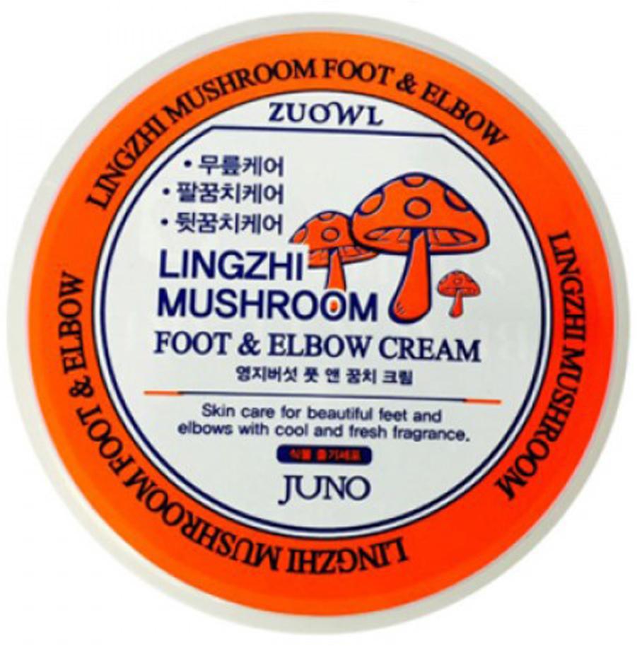 Крем для ног и локтей с грибами линчжи, 100 мл, Juno451514Крем смягчает кожу ног и локтей, отшелушивает мертвые клетки кожи. Экстракт гриба линжчи питает кожу, омолаживая её. Гриб Линчжи за его уникальные свойства называют «эликсиром молодости». Благодаря высокому содержанию питательных веществ обеспечивает усталой коже здоровый и сияющий вид. Стволовые клетки, содержащие большое количество воды, играют важную роль в процессах роста и воспроизводства.
