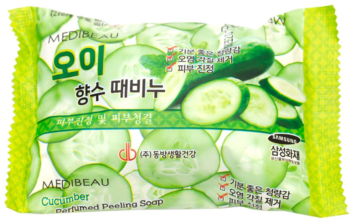 Мыло с отшелушивающим эффектом парфюмированное с огурцом, 120мл, Juno840330Мыло с огурцом успокаивает и очищает кожу, оставляя легкий аромат. Наполняет кожу влагой, тонизирует и освежает. Содержит богатое количество влаги, хлорофилла и витамина С, огурец дает прекрасный увлажняющий эффект и делает кожу свежей и чистой.