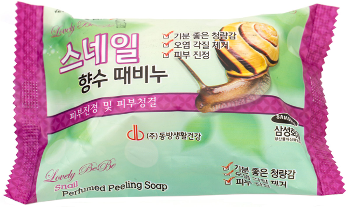 Мыло с отшелушивающим эффектом парфюмированное с улиткой, 120 мл, Juno840347Мыло с экстрактом улитки успокаивает и очищает кожу, оставляя легкий аромат. Уникальный по своему составу улиточный муцин стимулирует процессы заживления и регенерации кожи. Мыло с улиточным муцином смягчает сухую кожу и помогает ей оставаться чистой и увлажненной.