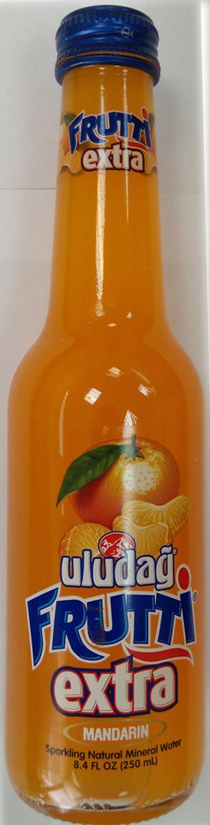 Uludag Frutti Extra Мандарин напиток слабогазированный, 0,25 л uludag frutti extra дыня напиток слабогазированный 0 25 л
