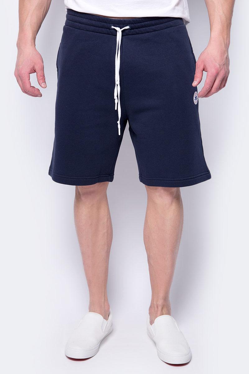 Купить Шорты спортивные мужские Converse Core Short, цвет: синий. 10004633424. Размер L (50)