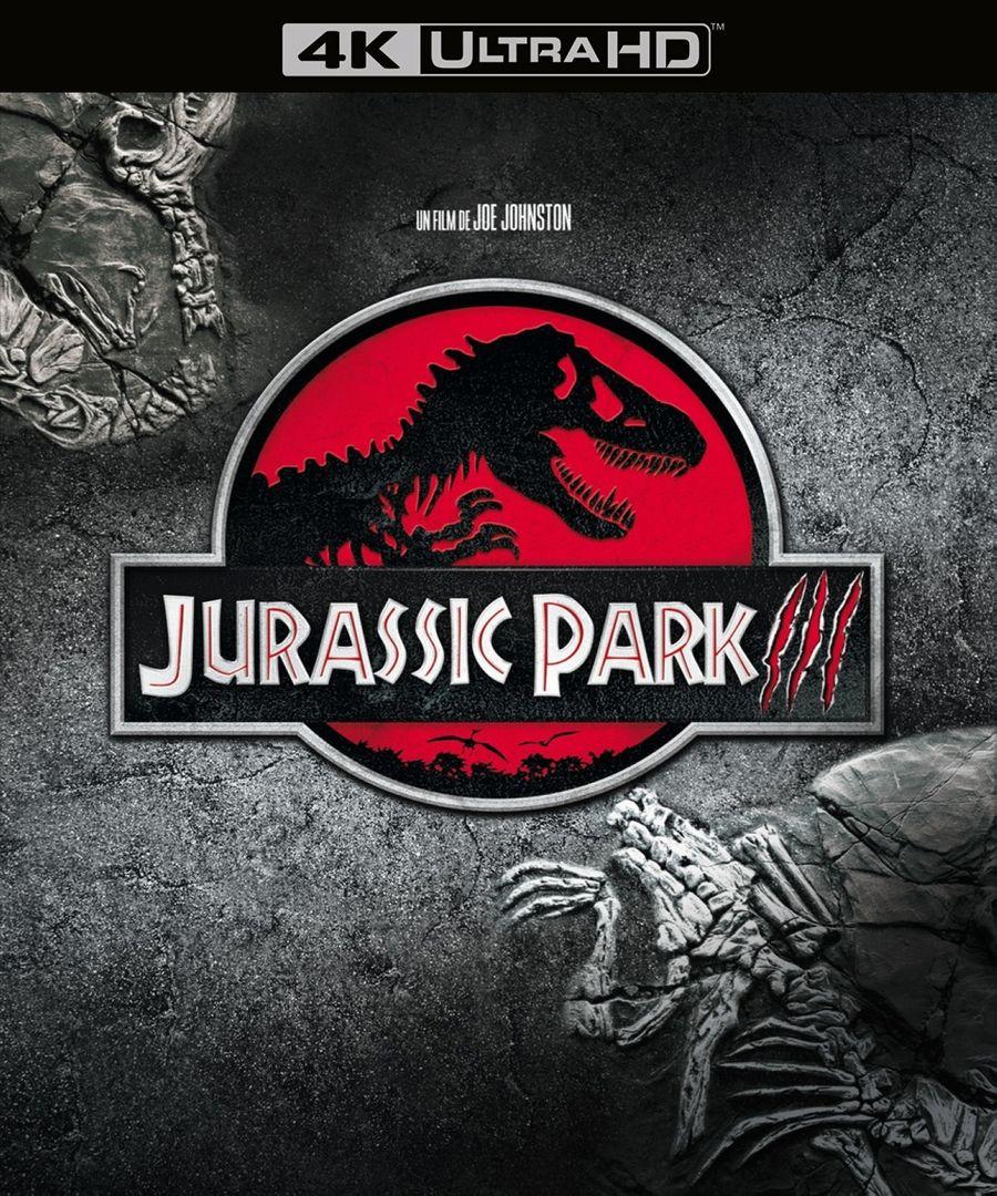 Парк Юрского периода 3 (4K UHD Blu-ray) 4k blu ray диск парк юрского периода 3