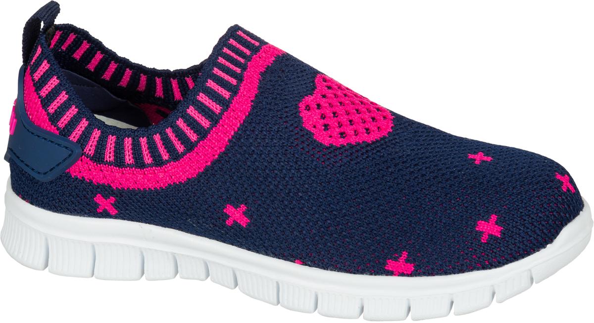 Кроссовки для девочки Mursu, цвет: синий, фуксия. 203021. Размер 32203021Яркие кроссовки от Mursu подойдут для повседневной носки и для занятий спортом. Модель выполнена из качественного текстиля и оформлена оригинальным принтом. Подкладка и стелька из текстиля и натуральной кожи гарантируют комфорт при носке, а ярлычок на заднике помогает максимально легко надевать обувь. Гибкая подошва с рифлением обеспечивает идеальное сцепление с разными поверхностями.