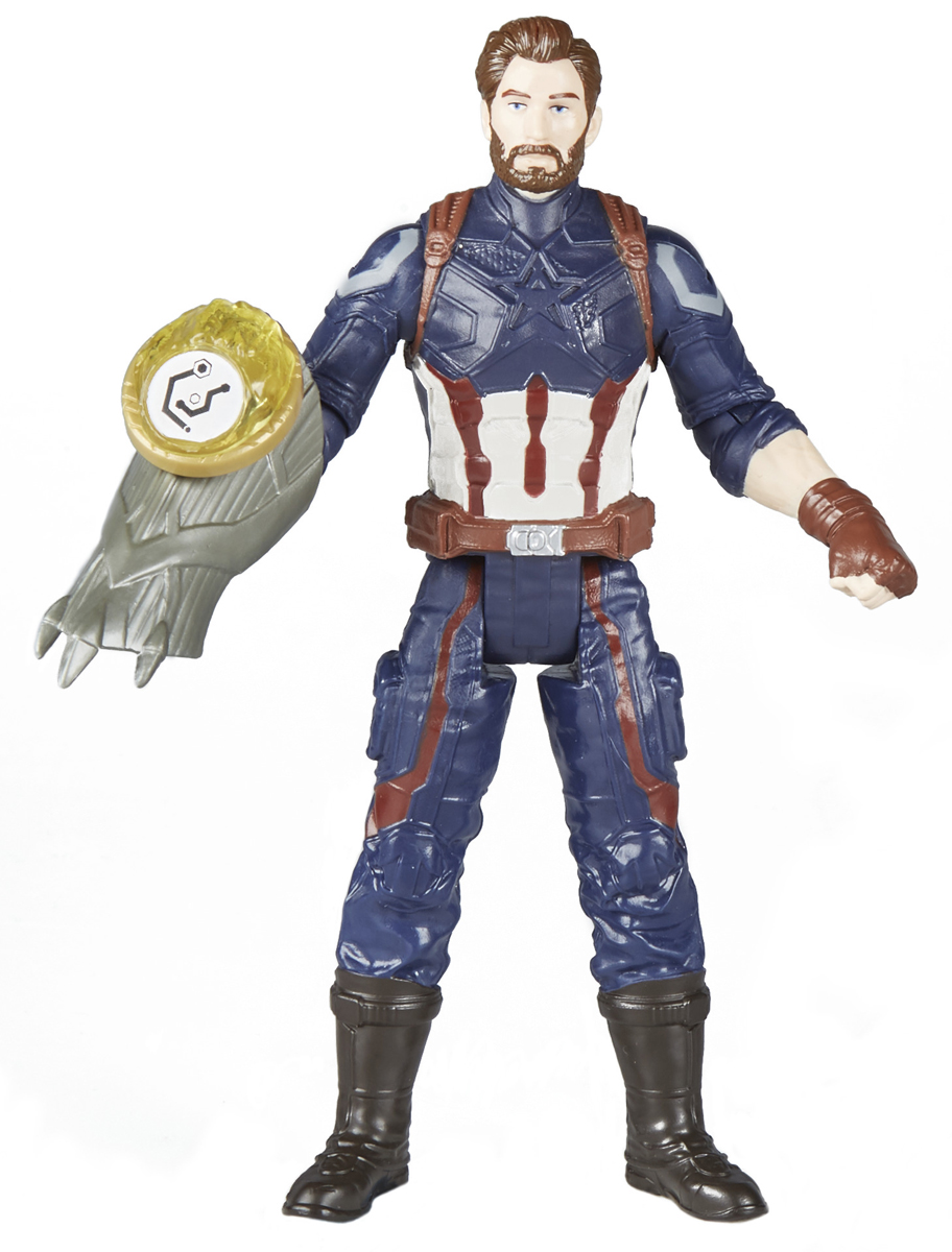 Avengers Игрушка Мстители с камнем Сapitan Аmerica E0605_E1407 - Интерактивные игрушки