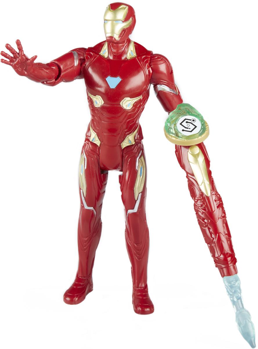 Avengers Игрушка Мстители с камнем Iron man E0605_E1406 imc toys avengers assemble iron man walkie talkie 390089