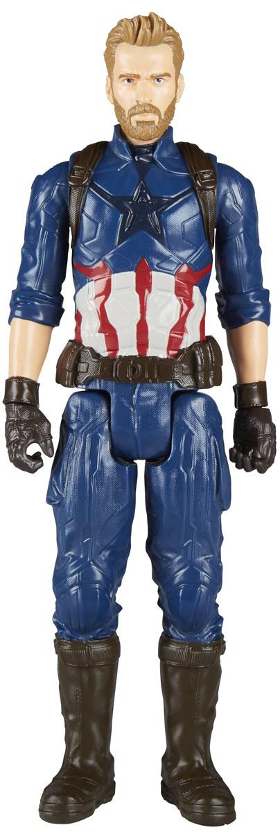 Avengers Игрушка Мстители Титаны Сapitan Аmerica E0570_E1421 hasbro avengers b5773 фигурка мстителя титаны