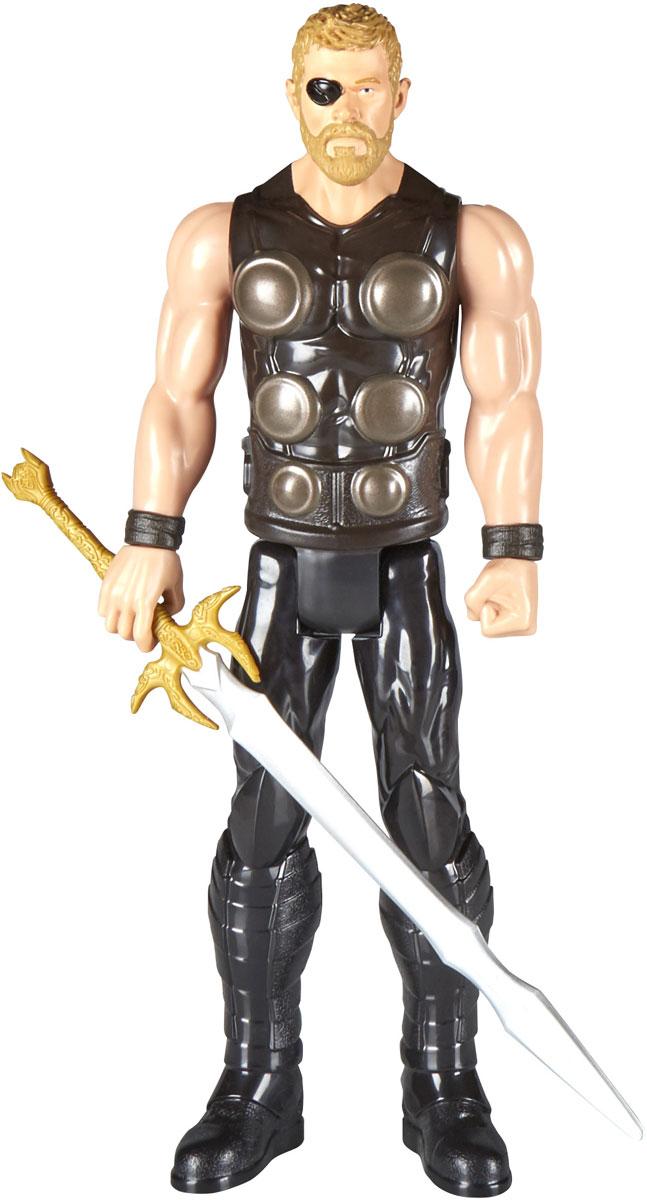 Avengers Игрушка Мстители Титаны Тhor E0570_E1424 hasbro avengers e0570 e1427 фигурка мстители титаны звездный лорд