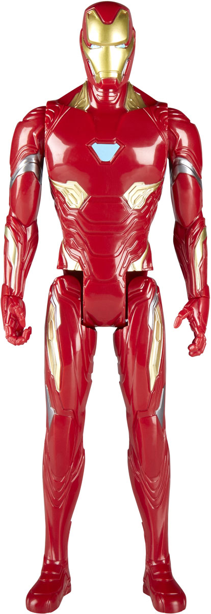 Avengers Игрушка Мстители Титаны Iron man E0570_E1421 the avengers hc iron man mark mk 42 black x gold pvc action figure collectible model toy with led light 28cm retail box g38