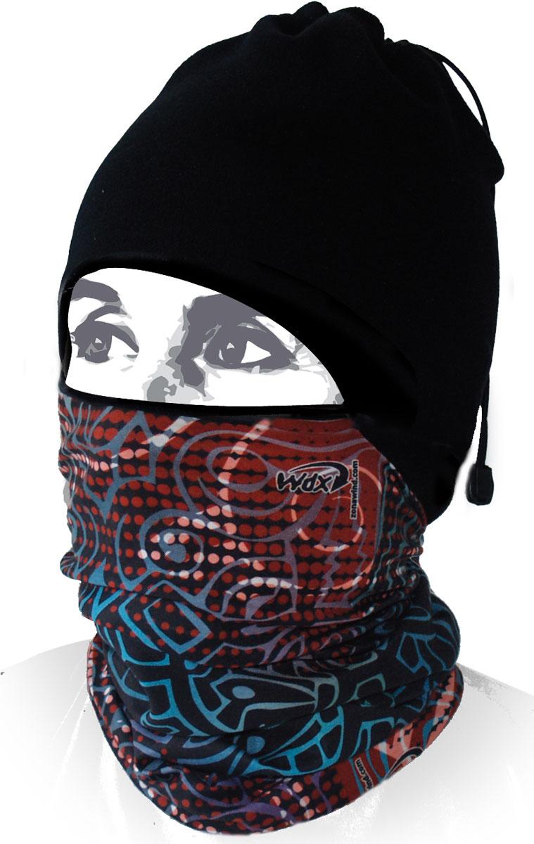 Шапка-бандана Wind X-Treme ArcticWind, цвет: черный, красный. 12069. Размер универсальный12069Многофункциональный головной убор Wind X-Treme ArcticWind - это современный предмет одежды, который защитит вас от самого лютого мороза благодаря комбинации флиса и микрофибры. Его можно использовать как шапку, бандану, маску, шарф, повязку, платок. Изделие обладает антибактериальным эффектом и подходит для занятий бегом, походов, скалолазания, езды на велосипеде, сноуборда, катания на лыжах, мотоциклах, игры в хоккей, а также для повседневного использования.Сочетание ткани и шапочки из флиса гарантирует дополнительные тепло и комфорт, отведение влаги, быстрое высыхание. Шапка-бандана подходит для обхвата головы 53-62 см.